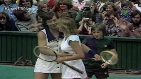 Navratilova and Evert - the #GreatestRilvalry