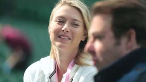 Ask Maria Sharapova…with Jonathan Ross