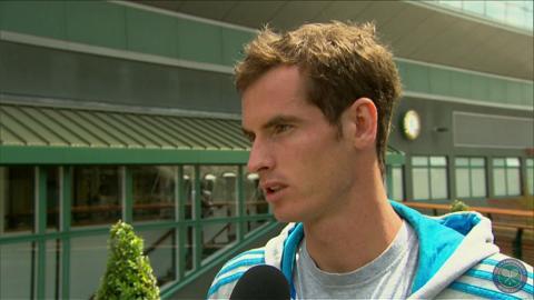 Andy Murray takes the Wimbledon fan quiz