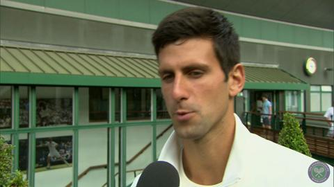 Novak Djokovic takes the Wimbledon fan quiz