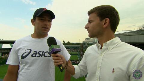 Marinko Matosevic Live @ Wimbledon Interview