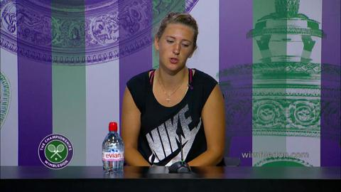 Victoria Azarenka First Round Press Conference