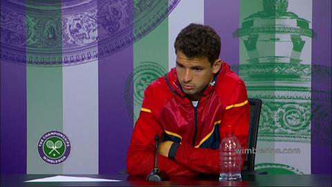 Grigor Dimitrov First Round Press Conference