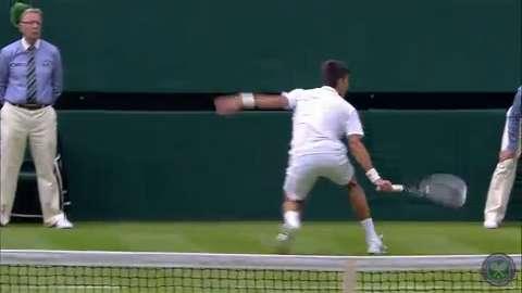 2014 Day 1 Highlights, Novak Djokovic vs Andrey Golubev, First Round