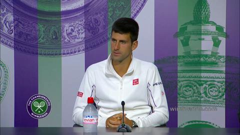 Novak Djokovic First Round Press Conference