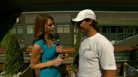 Rafael Nadal takes the Wimbledon fan quiz
