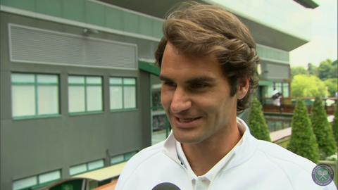 Roger Federer takes the Wimbledon fan quiz