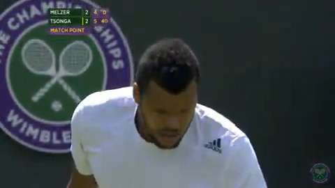 2014 Day 2 Highlights, Jo-Wilfried Tsonga vs Jurgen Melzer, First Round