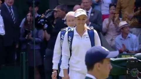 2014 Day 2 Highlights, Sabine Lisicki vs Julia Glushko, First Round
