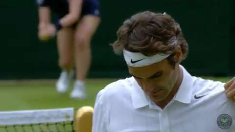 2014 Day 2 Highlights, Roger Federer vs Paolo Lorenzi, First Round