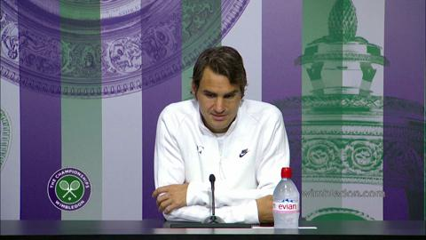 Roger Federer First Round Press Conference