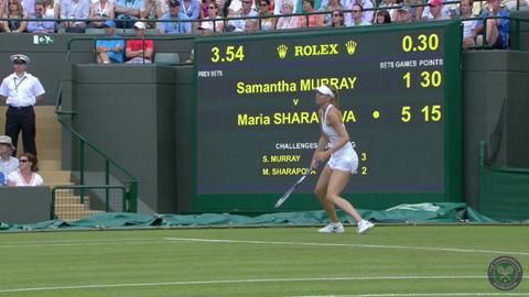 2014 Day 2 Highlights, Maria Sharapova vs Samantha Murray, First Round