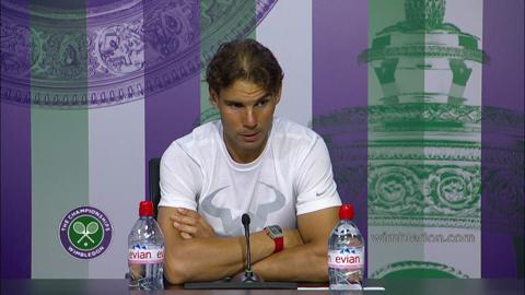 Rafael Nadal First Round Press Conference