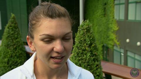 Simona Halep takes the Wimbledon fan quiz