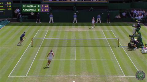2014 Day 3 Highlights, Casey Dellacqua vs Agnieszka Radwanska, Second Round
