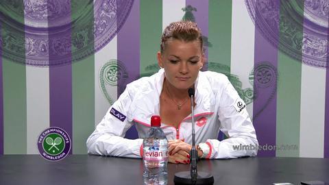 Agnieszka Radwanska Second Round Press Conference
