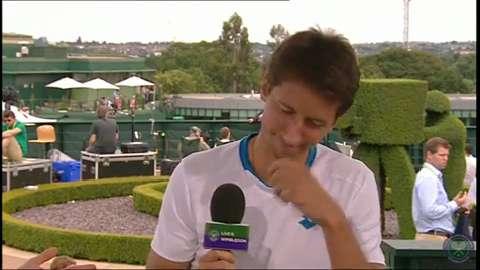 Sergiy Stakhovsky visits the Live @ Wimbledon studio
