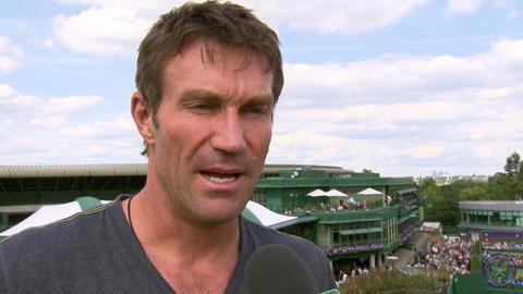 Pat Cash Live @ Wimbledon Interview