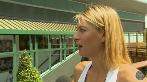 Maria Sharapova takes the Wimbledon fan quiz