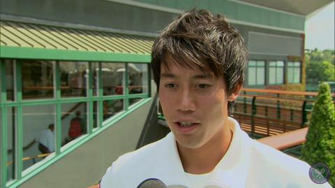 Kei Nishikori takes the Wimbledon fan quiz