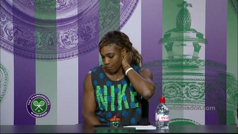 Serena Williams Second Round Press Conference