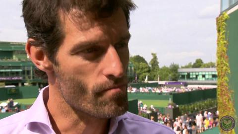 Mark Webber Live @ Wimbledon Interview