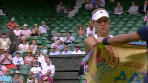 2014 Day 4 Highlights, Angelique Kerber vs Heather Watson, Second Round