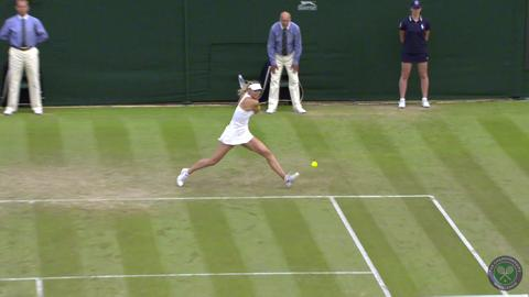 2014 Day 4 Highlights, Maria Sharapova vs Timea Bacsinszky, Second Round