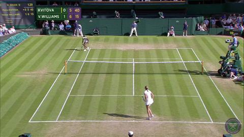 2014 Day 5 Highlights, Petra Kvitova vs Venus Williams, Third Round