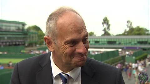 Steve Redgrave Live @ Wimbledon interview