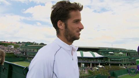 Feliciano Lopez Live @ Wimbledon interview