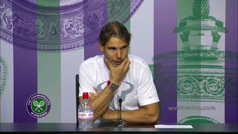 Rafael Nadal Third Round Press Conference