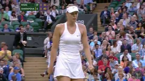 2014 Day 6 Highlights, Maria Sharapova vs Alison Riske, Third Round