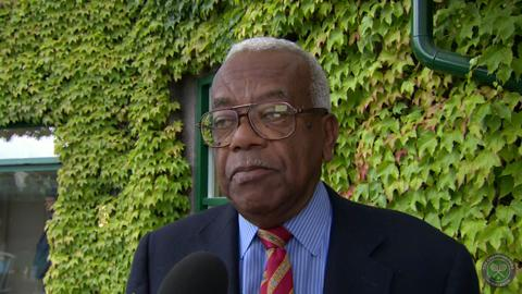 Trevor McDonald Live @ Wimbledon interview