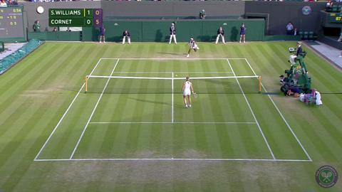 2014 Day 6 Highlights, Serena Williams vs Alize Cornet, Third Round