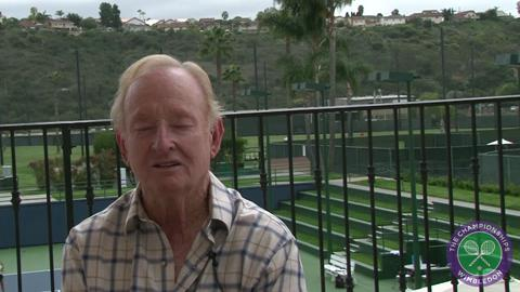 Rod Laver on friends and rivals