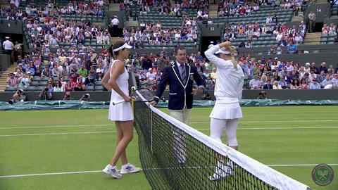 2014 Day 7 Highlights, Sabine Lisicki vs Ana Ivanovic, Third Round