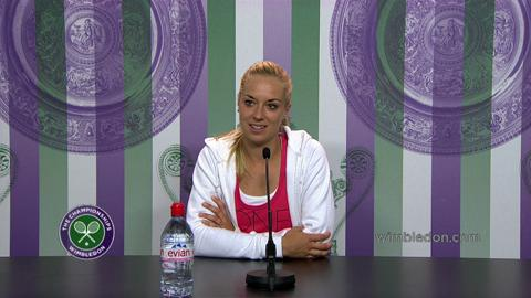 Sabine Lisicki Third Round Press Conference