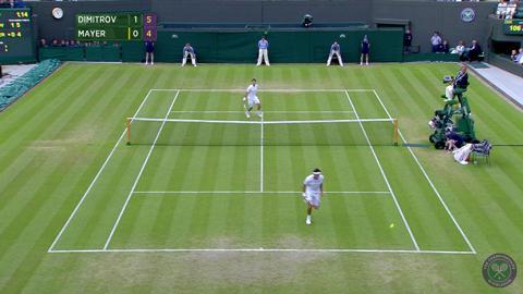 2014 Day 7 Highlights, Grigor Dimitrov vs Leonardo Mayer, Fourth Round