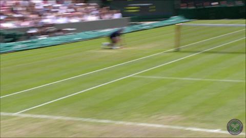 2014 Day 8 Highlights, Roger Federer vs Tommy Robredo, Fourth Round