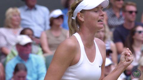 2014 Day 8 Highlights, Angelique Kerber vs Maria Sharapova, Fourth Round