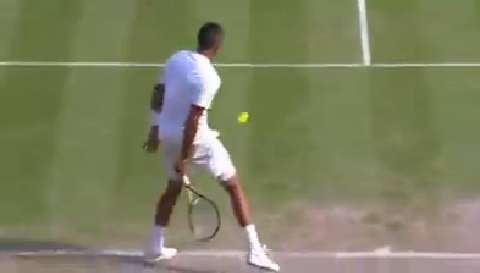 Nick Kyrgios hits 'shot of the year' v Nadal