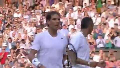 Match point: Nick Kyrgios beats Rafa Nadal