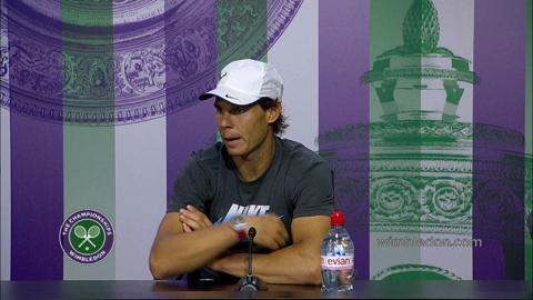 Rafael Nadal Fourth Round Press Conference