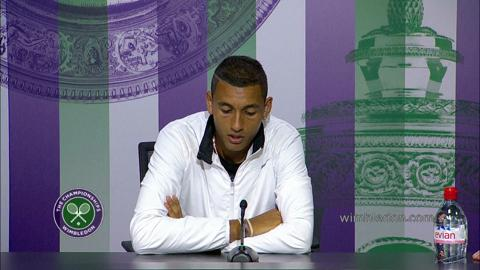 Nick Kyrgios Fourth Round Press Conference