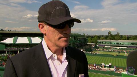 Brad Gilbert Live @ Wimbledon interview