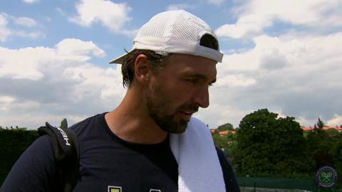 Goran Ivanisevic Live @ Wimbledon interview