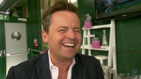Ant, Dec and Jonathan Ross Live @ Wimbledon interview