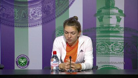Simon Halep Quarter-Final Press Conference