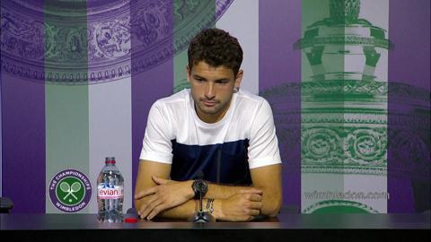 Grigor Dimitrov Quarter-Final Press Conference